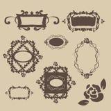 Uitstekende frames Royalty-vrije Stock Afbeelding