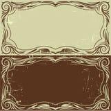 Uitstekende frames Stock Afbeeldingen