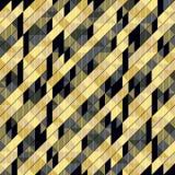 Uitstekende geometrische discoachtergrond Stock Afbeelding