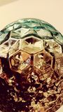 Uitstekende Geometrische Glasbollen Royalty-vrije Stock Foto