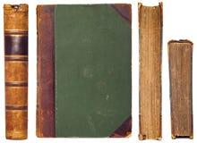 Uitstekende geplaatste boekkanten Stock Foto's