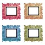Uitstekende Geplaatste Frames Royalty-vrije Stock Afbeeldingen