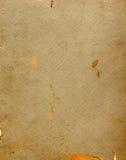 Uitstekende geweven boekdekking als achtergrond Royalty-vrije Stock Foto