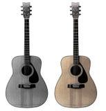 Uitstekende gitaar Royalty-vrije Stock Afbeeldingen