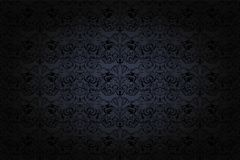uitstekende Gotische achtergrond in donkere grijs en zwart stock illustratie