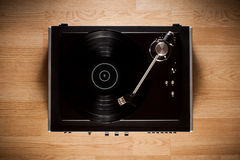 Uitstekende grammofoon Stock Afbeeldingen
