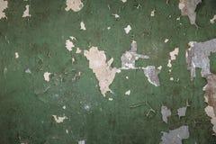 Uitstekende grungetextuur als achtergrond van oude concrete muur met gebarsten doorstane verf Royalty-vrije Stock Fotografie