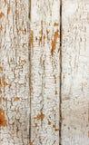 Uitstekende grungy witte achtergrond van natuurlijke houten of houten oude textuur Royalty-vrije Stock Afbeelding