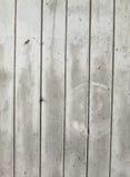 Uitstekende of grungy witte achtergrond van natuurlijke houten of houten oude textuur als retro patroonlay-out Het is een concept Stock Afbeelding