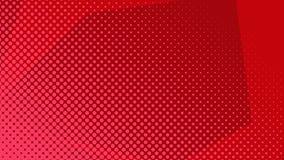 Uitstekende Halftone het ontwerpachtergrond van de pop-artgradiënt stock illustratie