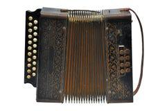 Uitstekende harmonika royalty-vrije stock afbeeldingen