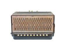 Uitstekende harmonika royalty-vrije stock fotografie