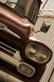 Uitstekende Herstelde Vrachtwagen Royalty-vrije Stock Foto