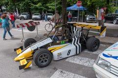 Uitstekende het rennen sportwagen Royalty-vrije Stock Fotografie