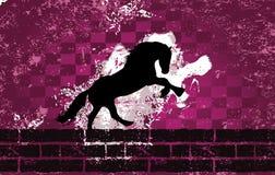Uitstekende het silhouetrooster van de grungemoskee Royalty-vrije Stock Afbeeldingen