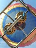 Uitstekende hete lucht ballooning gasfornuizen royalty-vrije stock foto