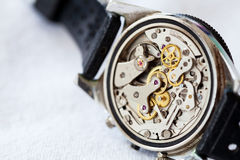 Uitstekende Horlogebeweging Stock Fotografie