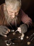 Uitstekende horlogemaker Royalty-vrije Stock Afbeeldingen