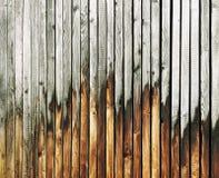 Uitstekende houten achtergrond De textuur van het behang Retro stijl Stock Fotografie