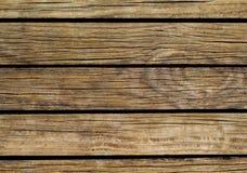 Uitstekende houten achtergrond Natuurlijke houten textuur met horizontale lijnen Stock Foto