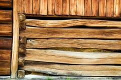 Uitstekende houten bouw Royalty-vrije Stock Foto