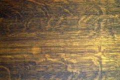 Uitstekende houten bruine achtergrond Achtergrond voor tekst, banner, etiket Royalty-vrije Stock Afbeeldingen