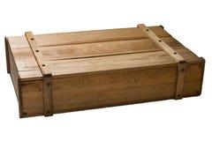 Uitstekende houten doos royalty-vrije stock afbeelding