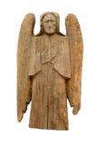 Uitstekende houten engel stock fotografie