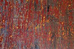 Uitstekende houten gekrast en doorstane achtergrond, grunge, stock fotografie