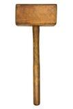Uitstekende houten hamer Royalty-vrije Stock Fotografie