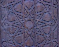 Uitstekende houten poort stock afbeeldingen