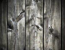 Uitstekende houten raadsachtergrond Stock Foto