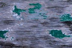 Uitstekende houten textuur gekraste kleur als achtergrond stock afbeeldingen