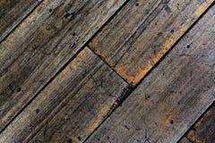 Uitstekende houten vloerachtergrond Royalty-vrije Stock Foto
