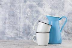 Uitstekende huisregeling, zachte pastelkleuren Royalty-vrije Stock Foto
