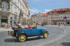 Uitstekende indrukken van de vakanties van Praag Royalty-vrije Stock Afbeeldingen