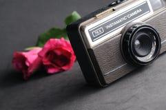 Uitstekende instamatic Camera Royalty-vrije Stock Afbeeldingen