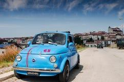 Uitstekende Italiaanse auto Royalty-vrije Stock Foto's