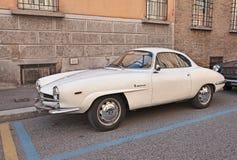 Uitstekende Italiaanse autoalpha- Romeo Giulia SS (1964) Stock Afbeeldingen