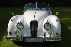 Uitstekende Jaguar-auto royalty-vrije stock afbeelding