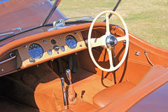 Uitstekende jaguarxk120 sporten Royalty-vrije Stock Foto's
