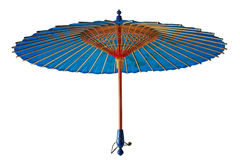 Uitstekende Japanse parasol Royalty-vrije Stock Afbeelding