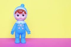 Uitstekende Japanse plastic pop Stock Afbeeldingen