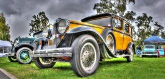 Uitstekende jaren '20 Amerikaanse auto's Royalty-vrije Stock Afbeelding