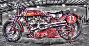 Uitstekende jaren '20 Indische motorfiets Stock Foto