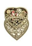 Uitstekende juwelendoos Royalty-vrije Stock Afbeelding