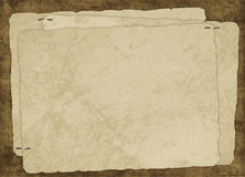 Uitstekende kaart van oud document Royalty-vrije Stock Foto