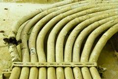 Uitstekende kabelbos royalty-vrije stock afbeeldingen