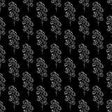 Uitstekende katoenen naadloze getrokken vector, groot ontwerp voor om het even welke doeleinden Schets uit de vrije hand vectoril vector illustratie
