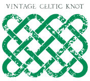 Uitstekende Keltische knoop Stock Afbeeldingen